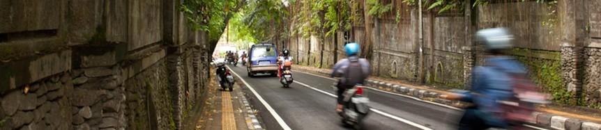Bikes in Indonesia